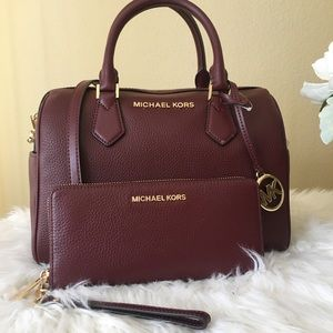 Michael Kors Large Bedford duffle satchel & wallet